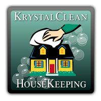 Krystal Clean HouseKeeping logo